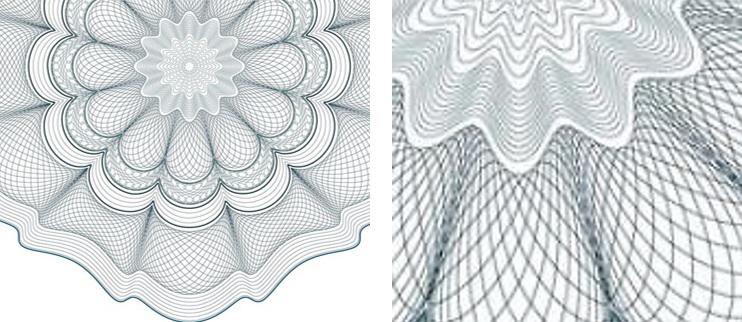 guilloche via pad drawing